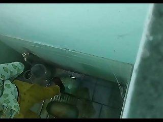 Desi girl spied pissing