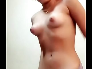 Cute Indian nude girl on cam