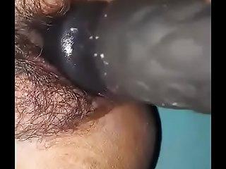 mona masturbating with dildo