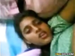Indian sister enjoys my cock in her purfling limits