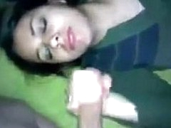 Desi handjob very cute girl
