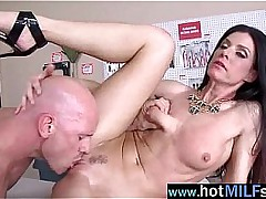 Brute Cock Apropos Hot Wet Pussy Be advisable for Superb Milf (india summer) clip-24