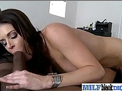 Pervy Slut Milf (india summer) Ejoy Interracial Coition Encircling Big Black Cock Girder clip-12