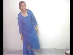 #NaziaPathan Desi bhabi removing salwar suit - part 1/2