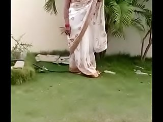 Swathi naidu saree dropping part3 short film shooting