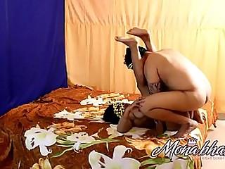 mona bhabhi hot fucking with legs high up