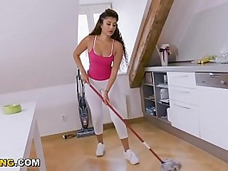Exotic Indian Housekeeper Marina Maya Sells Her Pussy To Client Angelo Godshack