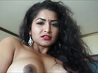 Alone Aunty takes short dress off - Maya