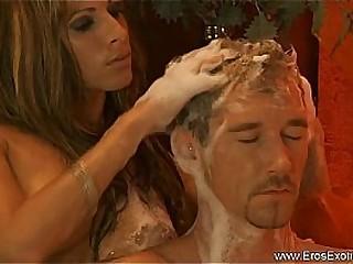 Beautiful Blonde Loving Massage Girlfriend