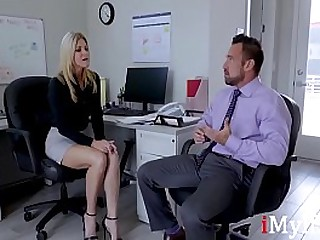 Boss MILF Fucks Me Real Hard