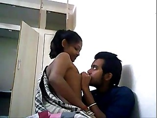 DesiSex24.com - Indian College Couple Fucking On A WebCam