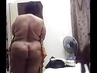 Desi aunty after fuck by her son