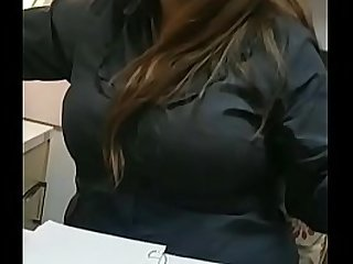 Indian office secretary juicy tits