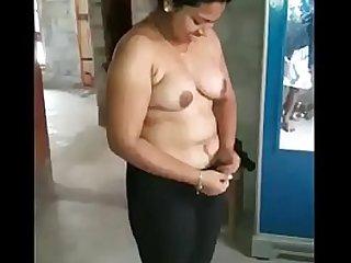 Desi Aunts Getting Nude in boy friend home. - Desi Indian Aunty Getting Nude