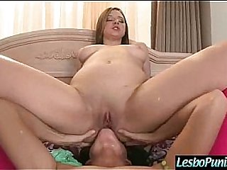 Hard Play With Sex Dildos Between Lesbian Girls (elektra&india) mov-19