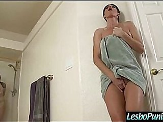 (elektra&india) Lesbians In Hard Punish Toys Action movie-18