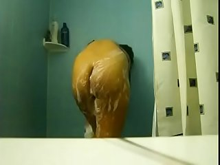 Who is this hot chick showering ?